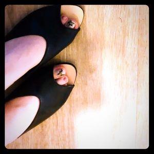 Zara Black  sandals